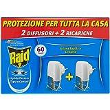 Raid Elektrische muggenwerende verpakking - bevat 2 diffusers + 2 navullingen, duur 60 nachten