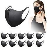 InnooCare 12 Pezzi Mas&chere masche&rine viso Antipolvere Riutilizzabile Lavabile, Unisex Elastica in Poliuretano Spugna
