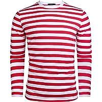 iClosam Maglietta Uomo Manica Lunga Classic Crew Neck Casual Long-Sleeve Maglia T-Shirt Felpa