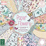 """First Edition Paper Flowers Premium Paper Pad 12""""x12"""" 48 Sheets (FSC)"""