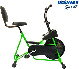 Leeway Exercise Fix Handle Gym Cycle with Back Support for Home Use