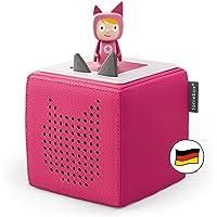 Toniebox Starterset in Pink: Toniebox + Kreativ-Tonie - Der tragbare Lautsprecher für Tonies Hörfiguren und Kreativ…