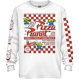 Disney Pixar Toy Story Pizza Planet Alien Flyer T-shirt à manches longues pour homme