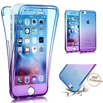 EUWLY 360 Grad Handyhulle Fur IPhone 8 Plus 7