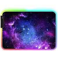 AILRINNI RGB Tapis de Souris Gaming - 350x250mm Grand Tapis de Souris XL, 12 Modes LED Lumineuse Tapis de Souris…
