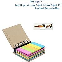 iSAVE BJA Pocket Size Spiral Sticky Note Pad