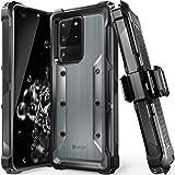 "VENA vArmor Rugged Funda Antigolpes Compatible con Samsung Galaxy S20 Ultra (6.9""-inch), (Military Grade, Drop Protection) Ar"