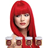 La Riche Directions Semi Permanent Fire Hair Colour Dye x 4