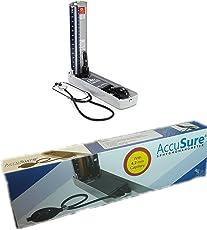 Accusure Mercury Sphygmomanometer - Blood Pressure Apperatus