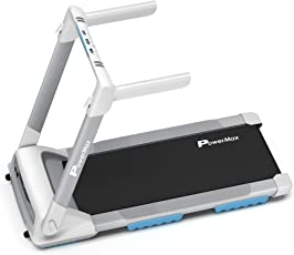 Powermax Fitness - UrbanTrek TD-M4 - 2.0HP, 100% Pre-Installed, Flat Surface, Motorized Compact Treadmill with Android & iOS App