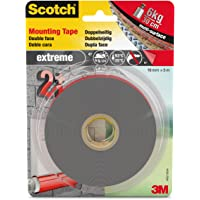 3M Scotch Ruban Adhésif Double Face Performance Extrême 5 m x 19 mm