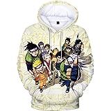 3D Naruto Taizai Unisex Harajuku hoodie met lange mouwen