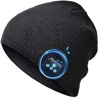 Idee Regalo Natale Uomo Donna Berretto Musicale Bluetooth regalo di Natale Cappello Invernali Lavorato Bluetooth 5.0…