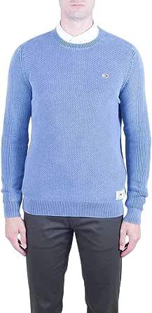 Tommy Jeans Men's TJM Garment Dye Sweater Sweatshirt