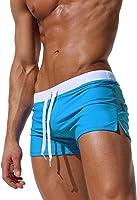 Imixcity Maillot de Bain - Homme Boxer Trunks Shorts Pantalon Court de Sport Plage Mer Loisir