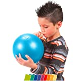 Sport-Tec Overball 23 cm, Over Ball Yoga Pilates Gymnastik Rücken Therapieball Übungsball