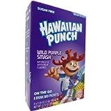 Hawaiian Punch Wild Purple Smash On The Go Powdered Drink Mix 20.8g (0.72 OZ)