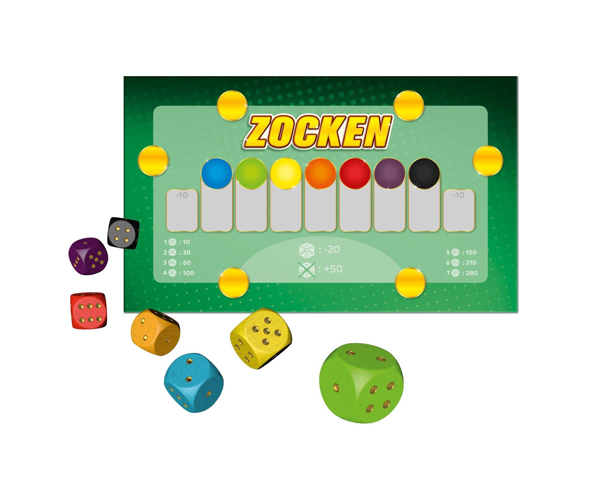 Noris-Spiele-606101705-Zocken-No-Risk-No-Fun