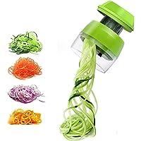 Spiraliseur de légumes Portable, Coupe Légumes Spirale, Coupeur de légumes Coupe, égétale Eplucheur pour Courgette, pour…
