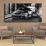 Canvas Schilderij Hd Print Geen Frame Sport Auto Artwork Moderne Nissan Skyline GTR Auto Foto's Nachtkastje Muur Art Posters