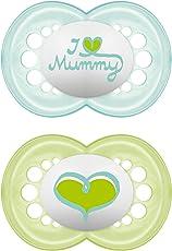 MAM - Original Silikon I love mummy, Doppelpack