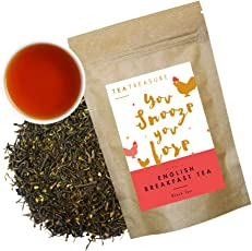 Tea Treasure English Breakfast Tea | Assam Black Tea & Darjeeling Black Tea | 100 Grams