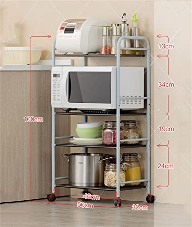 Scaffalature per cucina a microonde Forni a rack Scaffali per ...
