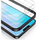 BANNIO (3-pack) skärmskydd för iPhone 12 Pro Max, HD-klarhet 0,25 mm skärmskydd i härdat glas för iPhone 12 Pro Max 6,7 tum (