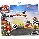 40194 Lego - Shell V-Power Jeu de Construction - Ferrari, Finish Line & Podium Exclusive Sealed by LEGO polybag (Sachet Polyb