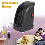 MOSHTU Room Handy Heater Portable 500W Handy Mini Heater Fan for Office Home
