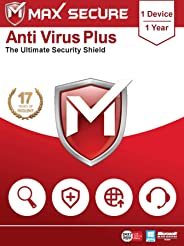 Max Secure Anti-Virus Plus - 1 PC, 1 Year (Email Delivery in 2 Hours - No CD)