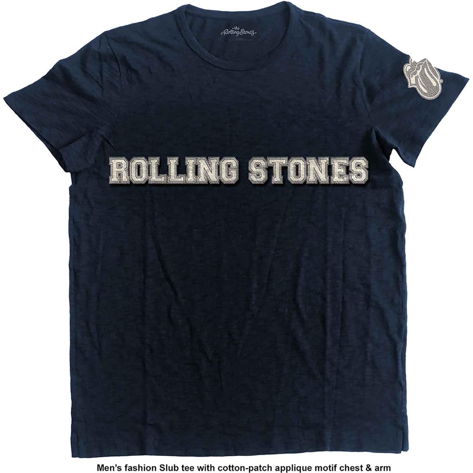 t shirt rolling stones homme avec logo du groupe et motif de la langue officiel stick2music. Black Bedroom Furniture Sets. Home Design Ideas