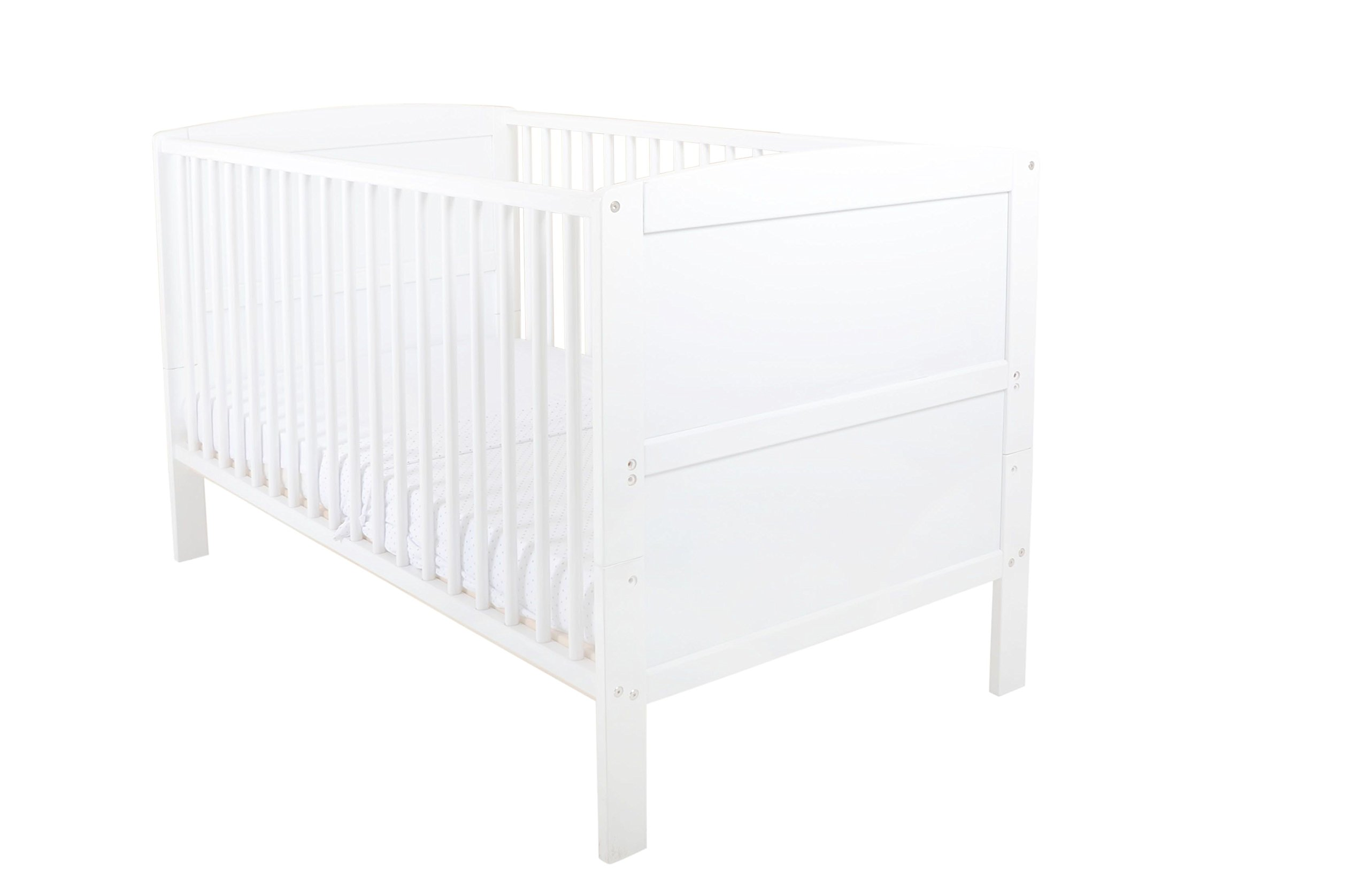 East Coast Hudson Cot Bed (White)  East Coast Nursery