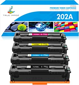 True Image Compatible Toner Cartridge Replacement For Hp 203a Cf540a 203x Cf540x Cf541a Cf542a Cf543a For Hp Color Laserjet Pro Mfp M281fdw Toner Hp Mfp M281 M281cdw M281fdn M280 M280nw M254dw M254 Bürobedarf