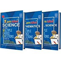 Xam Idea CBSE MCQs Chapterwise For Term I, Class 10 Mathematics, Science & Social Science (Set of 3) (With massive…