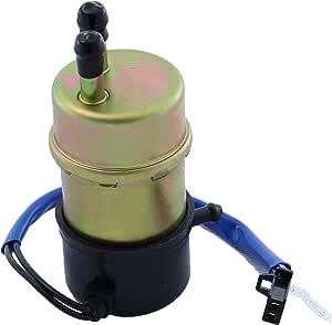 Kraftstoffpumpe Benzinpumpe Für Kawasaki Zx Zxr Suzuki An Vs Vl Yamaha Bt Fzr Xp Yp 12v Eingang Und Ausgang 8 Mm Gerade Auto