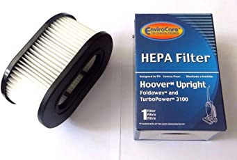 Hoover Foldaway and TurboPower HEPA Filter 3100 By Envirocare by EnviroCare