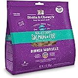 Stella & Chewy's Pouch - Cibo per gatti senza cereali, salmone e merluzzo, 10 oz