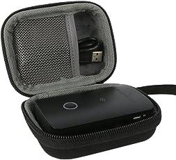 Hart Reise Schutz Hülle Etui Tasche für RAVPower kabelloser SD Kartenleser / wireless Router / Wifi Repeater Powerbank Zusatzakku von co2CREA