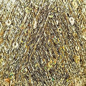 King Cole Cosmos paillettes sequins métallique fil à tricoter 25g Craft filetage (diverses nuances)