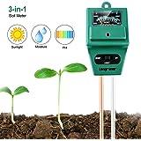 Longruner 3-in-1 Misuratore di umidità del Suolo del Terreno Terreno Misuratore di umidità Misuratore di impianto per…