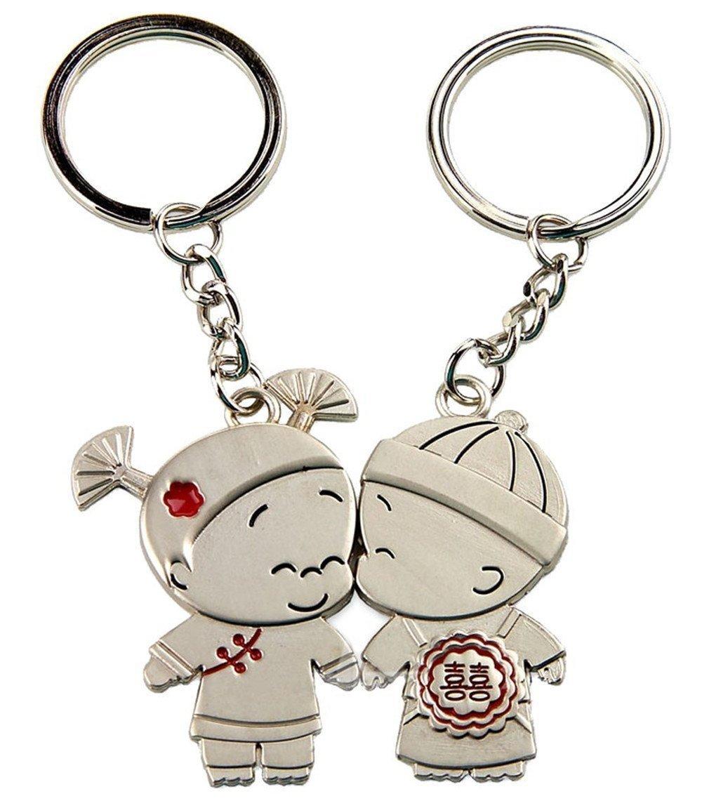1 Paar Schlüsselanhänger
