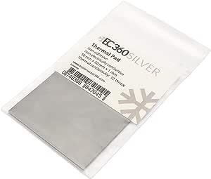 Ec360 Silver 12w Mk Wärmeleitpad 50 X 50 X 1 0 Mm