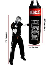 Aurion Strong Punching Bag Unfilled for Boxing MMA Sparring Punching Bag 2 ft 3ft 4ft 5ft for Training Kickboxing Muay Thai