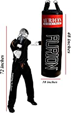 Aurion Strong Punching Bag Unfilled for Boxing MMA Sparring Punching Training Kickboxing Muay Thai