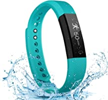 LETSCOM Fitness Tracker with Heart Rate Monitor, Slim Sports Activity Tracker Watch, Waterproof Pedometer Watch with...