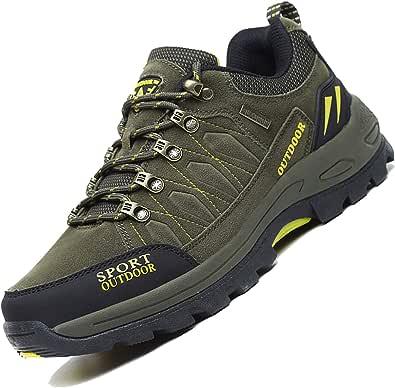 Unitysow Scarpe da Escursionismo Uomo Donna All'aperto Sportive Arrampicata Scarpe da Trekking Impermeabili Stivali da Escursionismo Sneakers Unisex 35-47
