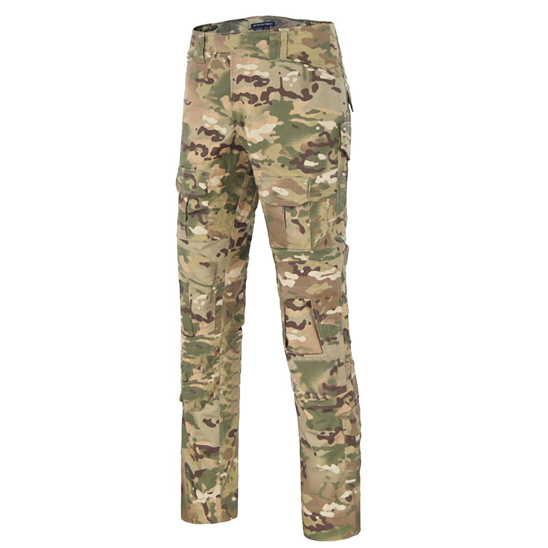 nuovo prodotto 4e4e9 509c1 QMFIVE Pantaloni Tattici, Pantaloni Softair Pantaloni Militari Military  Men's Shooting Camo Combat BDU Pantaloni da Combattimento per Tactical Army  ...