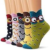 Bakicey Calcetines de Algodón de Mujers calcetines térmicos Adulto Unisex Calcetines