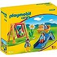 PLAYMOBIL 1.2.3, 70130 Parque Infantil, Para niños de 1,5 a 4 años